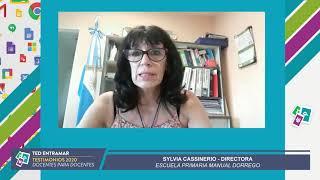 Sylvia Cassinerio, Directora Escuela Manuel Dorrego
