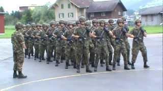 Armée Suisse - Section Ferreira - IFO/EO Av 82 - 13 Juillet 2012
