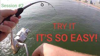 VA BEACH FISHING PIER | Day two | Bottom rig explained!