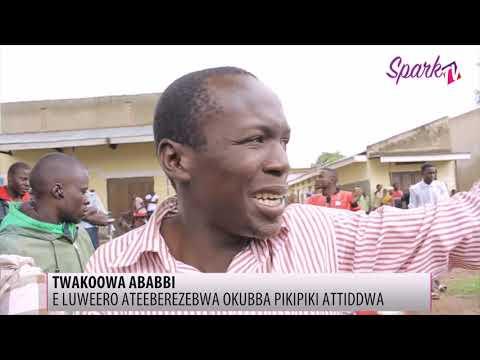 Ateberezzebwa okubba Boda boda attiddwa e Luweero