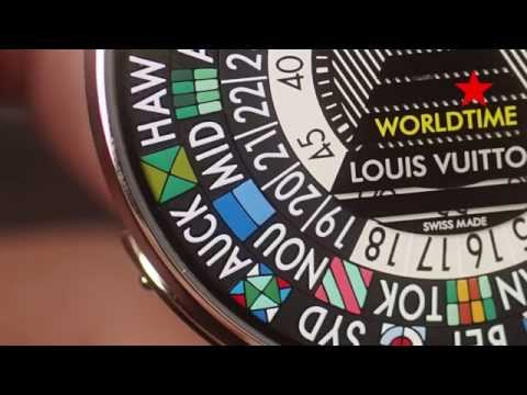 Louis Vuitton Escale Worldtime & Spin Time GMT Explained