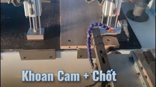 Máy khoan, phay lắc mộng âm đa dụng CNC-2500B2