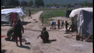 Idomeni Refugee Camp Riots On Greece Macedonia Border