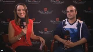The International 6 Interview Kuroky after match vs Navi