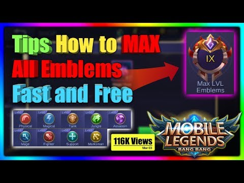 Pabilisin ang pag Max ng Emblems mo sa Mobile Legends BANG BANG