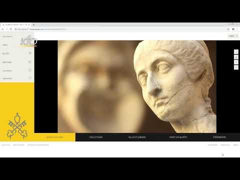Le site internet du Musée du Vatican