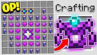 Making ARMOR Better Than DIAMOND in Minecraft!