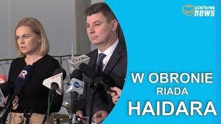 Polityczne zwolnienie posła Riada Haidara.