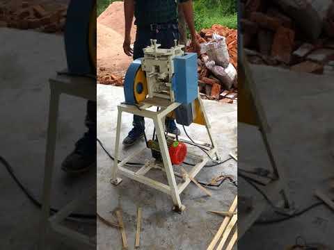 Bamboo Thin Sliver Making Machine