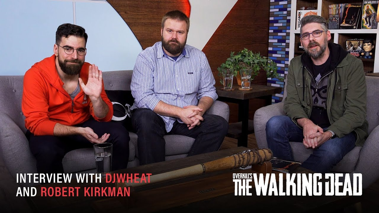 Interview w/ Robert Kirkman and djWHEAT