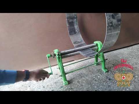 1 Feet Manual Sheet Rolling Machine