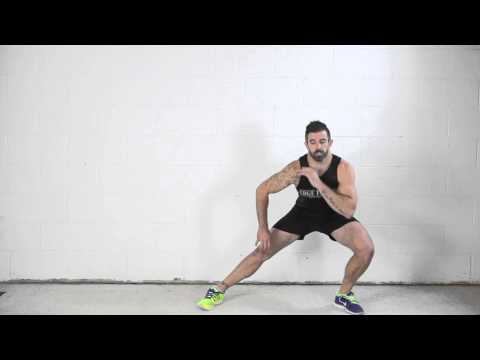 Side Lunge to Crossover Tap