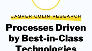 Processes Driven by Best-in-Class Technologies