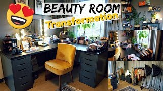 Makeup Room Transformation | Vlog Style