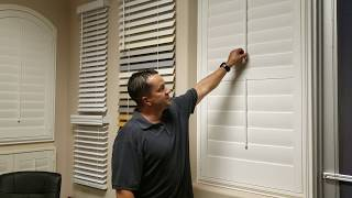 Shutter Divider Rail and Louver Sizes