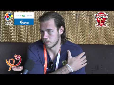 Qatar 2015 - Interview with Andreas Nilsson, Sweden