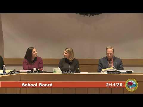 School Board 2.11.2020