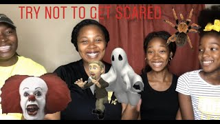 TRY NOT TO GET SCARED CHALLENGE*EPIC FAIL*