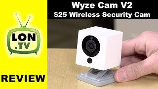 Wyze Cam V2 - $25 Security Camera! Wireless Wifi Connection, Two Way Mic, Local storage