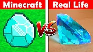 MINECRAFT: DIAMANTITO EN LA VIDA REAL! 💎😱 MINECRAFT VS LA VIDA REAL ANIMACIÓN #2