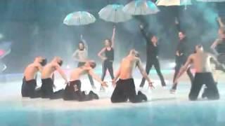 It's Raining Men Reherasals