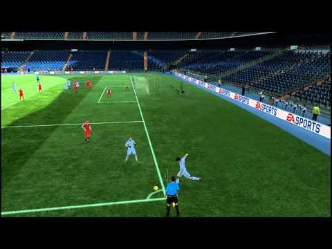 Fifa 11 Ozil corner goal