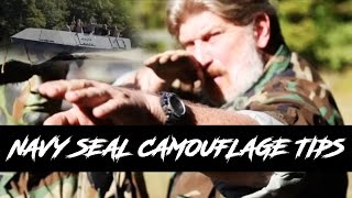 US NAVY SEAL Airsoft Camouflage Tips with Don Shipley [ Swamp Sniper ]