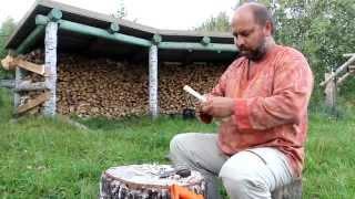 Смотреть онлайн Технология изготовления ложки из дерева своими руками