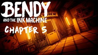 Играем в пятую главу Bendy And the ink machine. Бесплатный заказ музыки через Twitch-Dj.