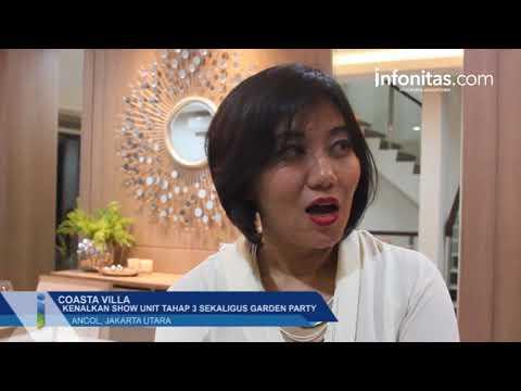 Coasta Villa Kenalkan Show Unit Tahap 3 Sekaligus Garden Party