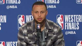 Stephen Curry Postgame Interview - Game 3 | Rockets vs Warriors | 2018 NBA West Finals - Video Youtube