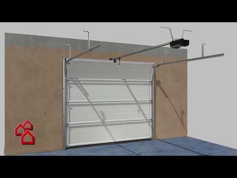 Garagentor IsoMatic - Montage Anleitung | BAUHAUS