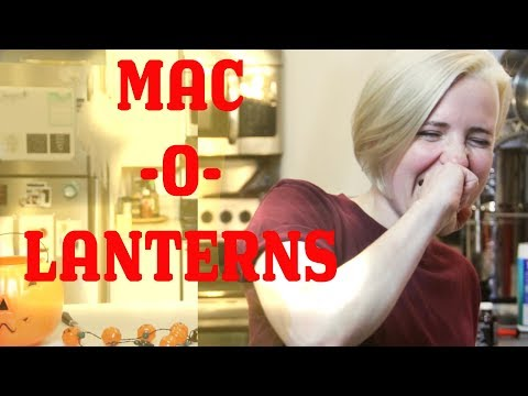 My Drunk Kitchen: Halloween Mac-O-Lanterns!