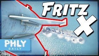 FRITZ-X Guided SHIP KILLER | Fritz-X Vs Ships (War Thunder Naval Forces)