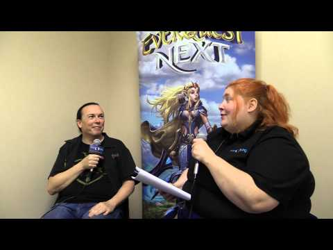 SOE Live 2014 - Dave Georgeson on Landmark's Future - Combat, PVP, and More!