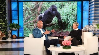 Dwayne Johnson Discusses His Gorilla Research for
