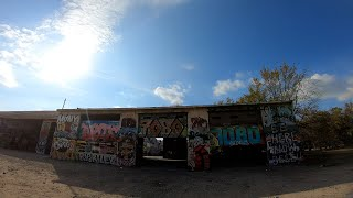 #FPV at Graffiti Park Dallas Tx! 6S Quad + #GoPro7! Epic #Drone Flying #Freestyle!