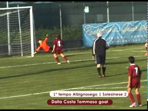 Preview video ALBIGNASEGO - SOLESINESE 2-2 (01.11/204) Esordienti 2002