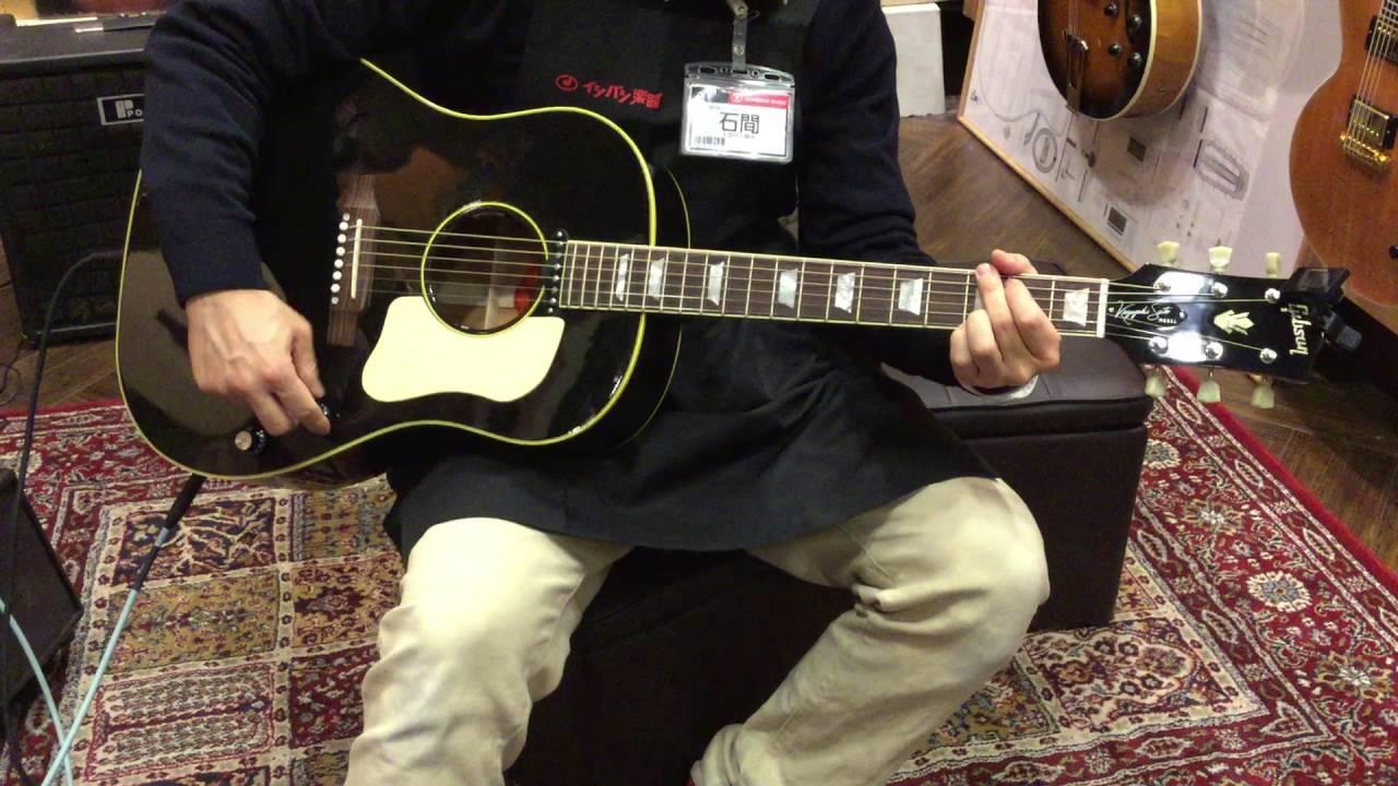 Gibson / Monthly Limited Run Kazuyoshi Saito J-160E Ebony【イシバシ楽器心斎橋店】
