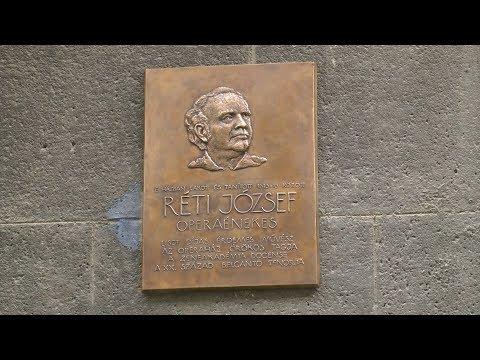 Réti József emléktáblájának avatása - video preview image