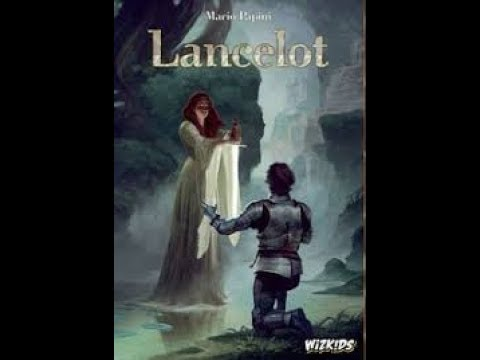 The Boardgame Mechanics Lancelot Unboxing