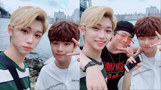 Stray Kids speaking English : NYC edition 🇺🇸