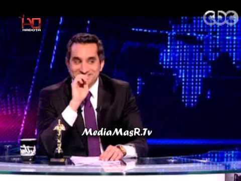 مرسي والمرشد وفيديو القصاص ببرنامج باسم يوسف