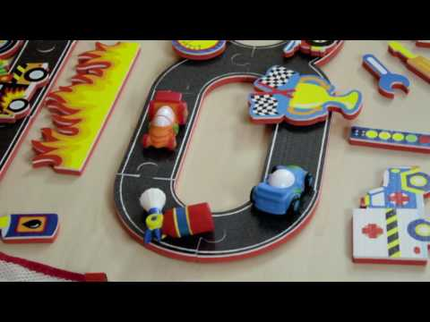 Youtube Video for Tub Time Grand Prix - 36 piece Set