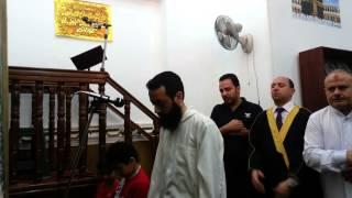 preview picture of video 'اقامة صلاة الجمعة الشيخ محمد عطية 9 5 2014 مسجد الحامدون محرم بك اسكندرية مصر'