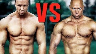 Street Workout VS Vegan Powerlifter - STRENGTH WARS 2k16 #18
