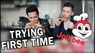 JOLLIBEE FIRST TIME IN TORONTO CANADA | JOLLIBEE MUKBANG