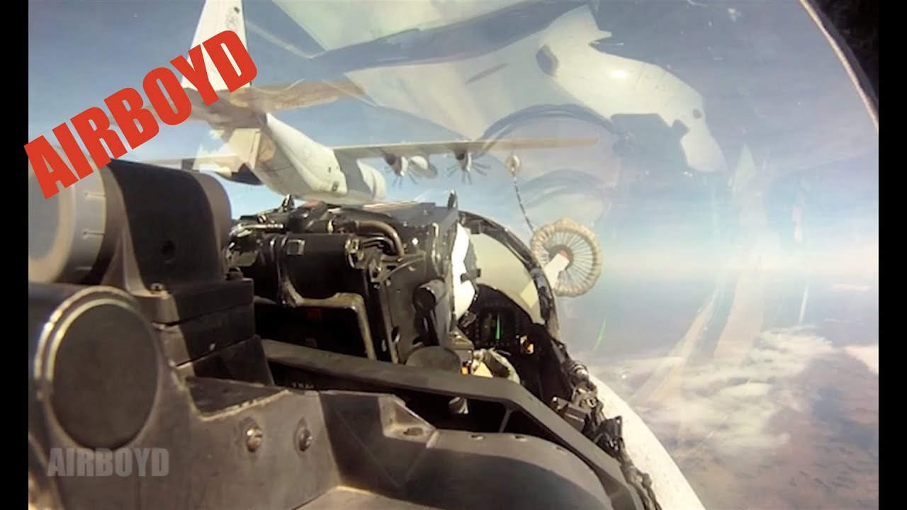 Watch A Pair Of F-18s Refuel In Mid-Air Near The RAAF Base In Tindal, NT