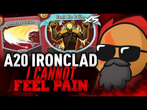 5 FEEL NO PAINS?! | Ascension 20 Ironclad Run | Slay the Spire