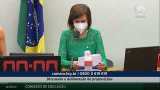 Discussão e deliberação de proposições - 22/09/2021 09:00